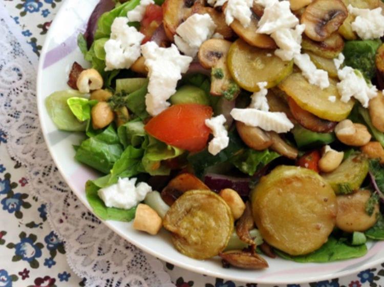 מתכון לשבועות: סלט פטריות טעים וקל להכנה