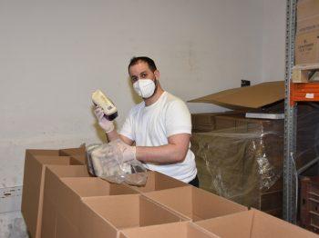 השבוע במשרדי יד אליעזר: שיא של כל הזמנים בבקשות מזון